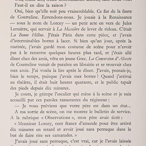 GUITRY Sacha Oeuvres Lucien Guitry raconté par son fils Quadrille Et puis voici …