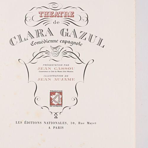 MERIMEE Prosper Théâtre de Clara Gazul Comédienne espagnole Présentation par Jea…