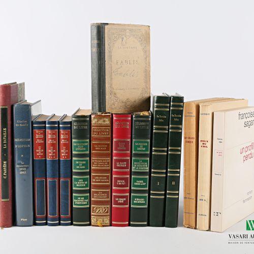 [ROMANS]  Lot comprenant quinze volumes :   FARRERE Claude La bataille Paris, Le…