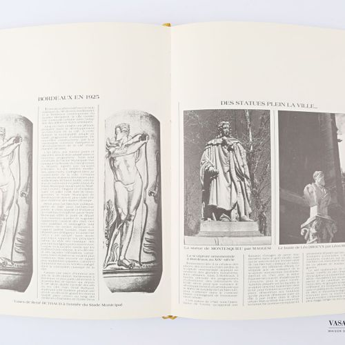 [REGIONALISME BORDEAUX]  ANONYME Bordeaux Paris S.N.E.A un volume in 4° reliure …