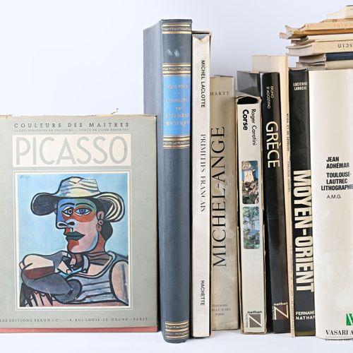 [BEAUX ARTS]  Lot comprenant vingt ouvrages :   COLLECTIF Connaissance des Arts …
