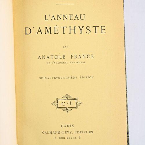 [ANATOLE FRANCE]  Lot de quinze ouvrages comprenant :   L'orme du mal Paris, Cal…