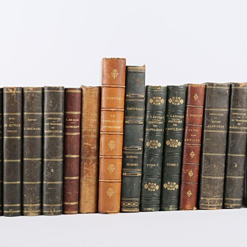 [LITTERATURE & ROMANS]  Lot comprenant vingt sept volumes :   MALOT Hector Le li…