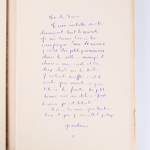 BONNARD Pierre Correspondances Editions de la Revue Verve, Maîtres Imprimeurs Dr…