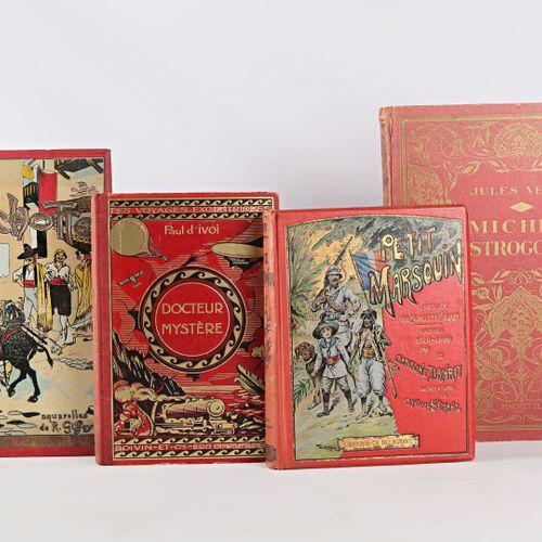 [JEUNESSE]  Lot comprenant trois ouvrages :   CERVANTES Don Quichotte de la Manc…