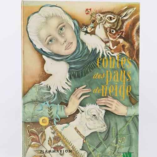 [JEUNESSE]  COLLECTIF Contes des pays de neige Paris Flammarion 1973 un volume i…