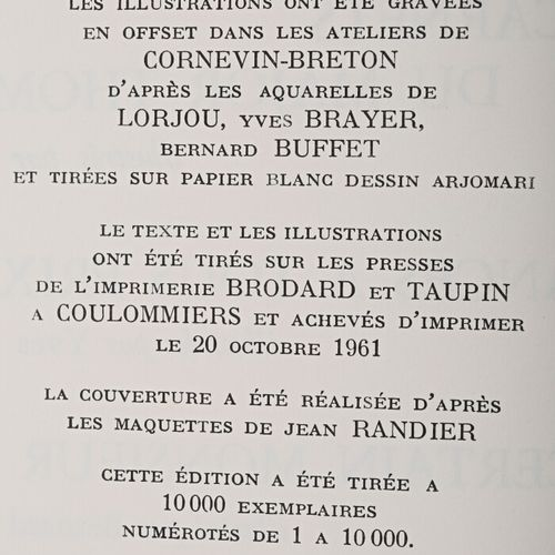 DANINOS Pierre Les carnets du Major Thompson illustrés par Lorjou/Vacances à tou…