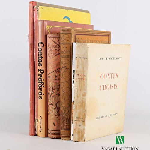 [ROMANS JEUNESSE DIVERS]  Lot comprenant cinq ouvrages :   SANDEAU Jules Madelei…