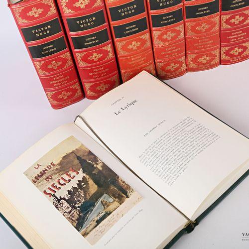 [LITTERATURE & DIVERS]  HUGO Victor Oeuvres complétes Tome I à XVI Edition Chron…