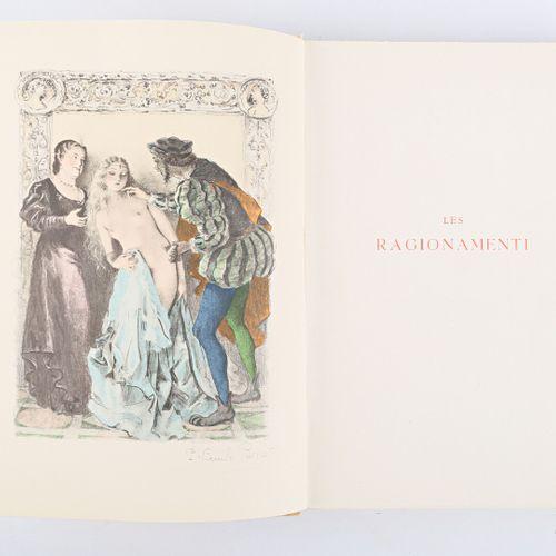 [LIBERTINAGE]  L'ARETIN Pierre Les Ragionamenti Edition complete en un volume Ed…