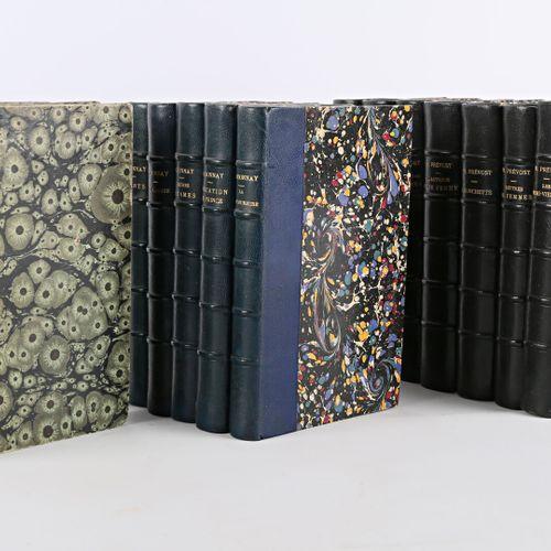 [LITTERATURE ROMANS]  Lot de quatorze ouvrages :   PREVOST Marcel Lettres de fem…