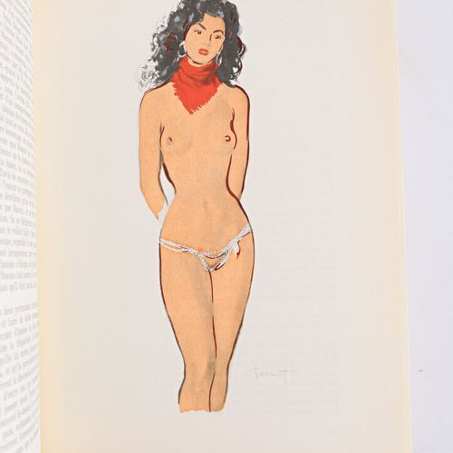 [LIBERTINAGE]  BOCCACE Jean Contes Paris, Editions du demi jour, 1955 2 vol. Bro…