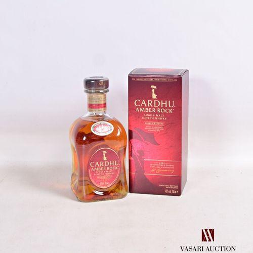 1 bouteilleSingle Malt Scotch Whisky CARDHU Amber Rock  Double Matured. 70 c…