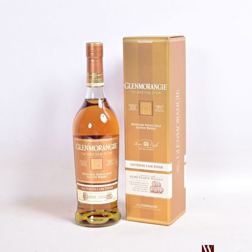 "1 bouteilleHighland Single Malt Scotch Whisky GLENMORANGIE ""The Nectar d'Oré …"