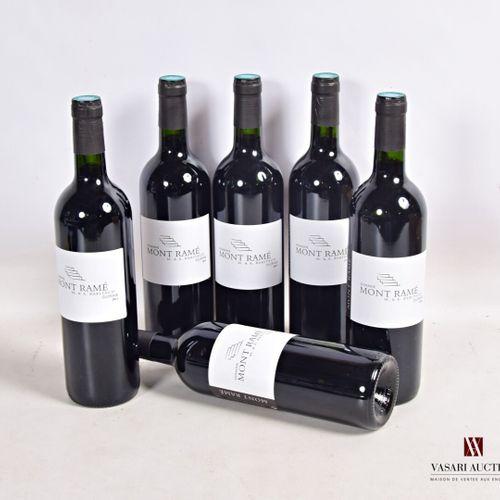 6 bouteillesDomaine MONT RAMÉCôtes de Duras2011  Présentation et niveau, imp…