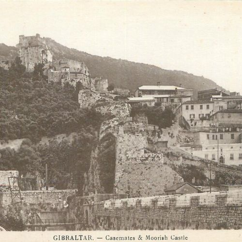 "56 FOREIGN POST CARDS: Gibraltar 15cp/cpsm and Jersey 41cp/cpsm. Including"" Gibr…"