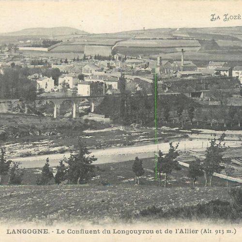 35 LOZERE POSTCARDS: Cities, qqs villages, qqs animations, qqs sites, qqs genera…