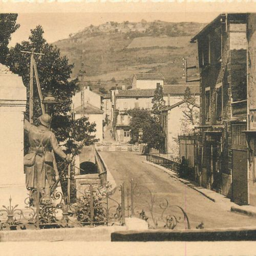 272 PROVINCE POSTCARDS: Composed as follows :  38 AVEYRON POST CARDS: Cities, qq…