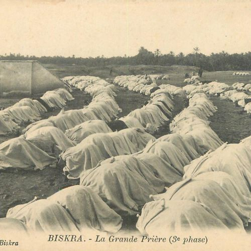 """204 NORTH AFRICA POSTCARDS: Scenes and Types. Of which"""" Cpsm, Colors, Sepia, Bed…"""