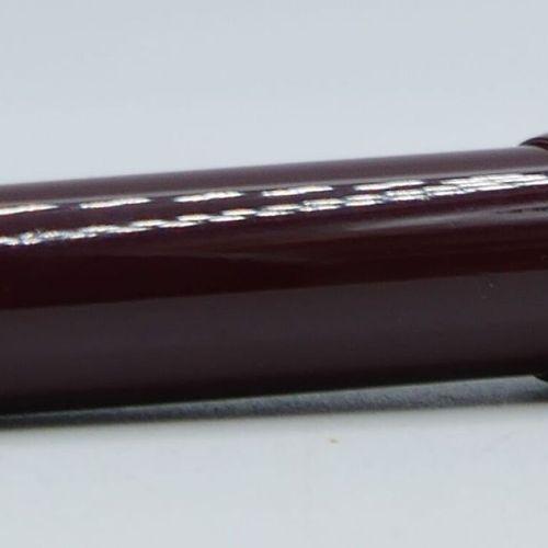 MONTBLANC :    Grand stylo bille LEGRAND en résine précieuse bordeaux avec sa re…