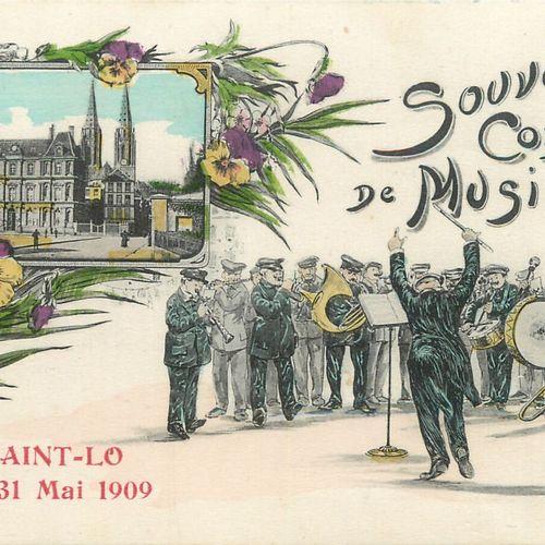 """14 CARTES POSTALES FETES & LOISIRS : Sélection Saint Lô. """"4cp Souvenir du Concou…"""
