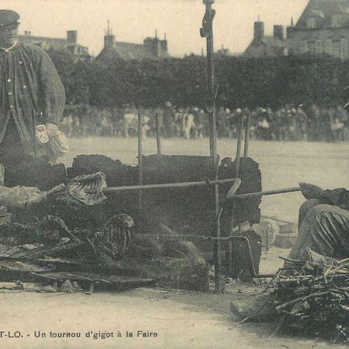 """3 CARTES POSTALES FOIRE : Sélection Saint Lô. """"Saint Lô La Foire les Tentes (tim…"""
