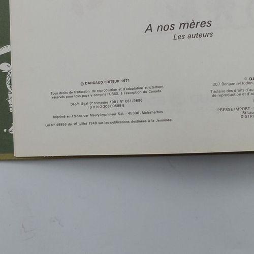 LUCKY LUKE Ensemble de 4 Bandes Dessinées.  38.Ma Dalton, 1981, Dargaud.  41. L'…
