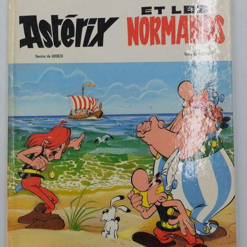 ASTERIX  9, Astérix et les Normands, 1966, Dargaud.