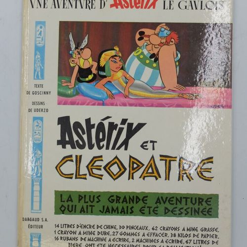 ASTERIX  6, Astérix et Cléopâtre, 1965, Dargaud, états.