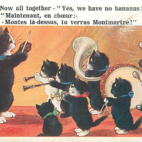 "301 CARTES POSTALES & DOCUMENTS : Varia. Dont"" Fantaisies, Illustrations, Illust…"