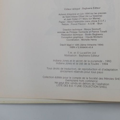 [DIVERS EDITEURS]. Ensemble de 4 Bandes dessinées Shell.  GAI LURON, 1994, Shell…