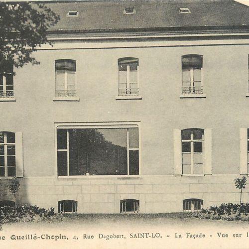 """159 CARTES POSTALES MANCHE : La Ville de Saint Lô. Dont"""" Vue Générale prise de l…"""