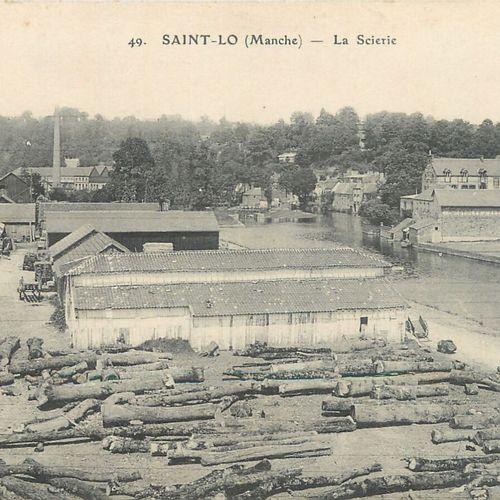 """11 CARTES POSTALES MANCHE : Petite Sélection Saint Lô. """"Les Lavoirs de Valvire (…"""