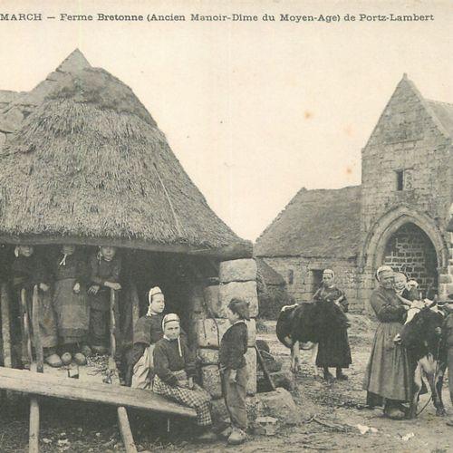 """9 CARTES POSTALES METIERS & VIE RURALE : Finistère. """"Cmcb n°220 Saint Pol de Léo…"""
