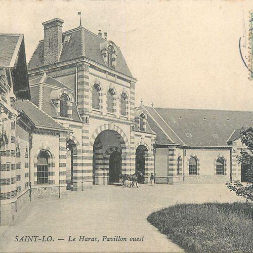 """153 CARTES POSTALES MANCHE : La Ville de Saint Lô. Dont"""" Panorama sur la Route d…"""