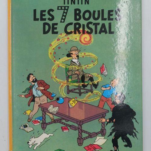 [CASTERMAN] Tintin Ensemble de 4 Bandes dessinées.   6. L'oreille cassée, 1980. …