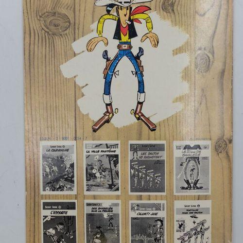 [DUPUIS] Lucky Luke Ensemble de 9 Bandes dessinées.  11. Contre Joss Jamon, 1972…