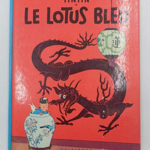 [CASTERMAN] Tintin Ensemble de 3 Bandes dessinées.  3. Tintin en Amérique, 1979.…