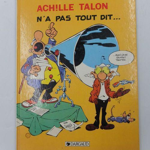 [DARGAUD] Achille Talon Ensemble de 6 Bandes dessinées.  29. La loi du Bidouble.…