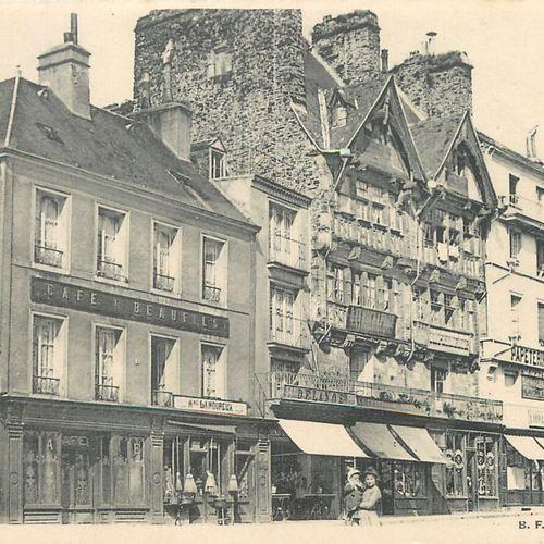 """156 CARTES POSTALES MANCHE : La Ville de Saint Lô. Dont"""" Vue prise de l'Hôtel de…"""