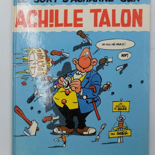[DARGAUD] Achille Talon Ensemble de 8 Bandes Dessinées.  12. Au coin du feu, 198…