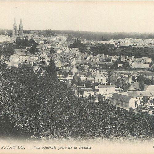 """142 CARTES POSTALES MANCHE : La Ville de Saint Lô. Dont"""" Vue générale prise de l…"""