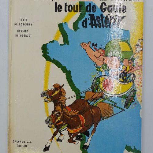 ASTERIX  5. Le tour de Gaule d'Astérix, 1963, Dargaud.