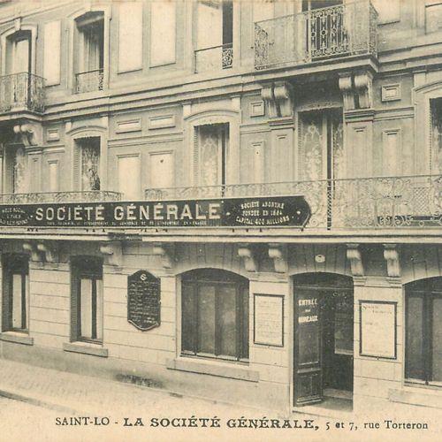 """11 CARTES POSTALES COMMERCES & INDUSTRIES : Saint Lô. """"Papeterie & Reliure Cordi…"""