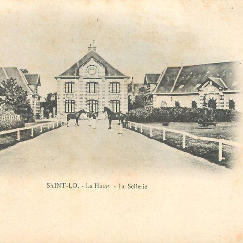 """153 CARTES POSTALES MANCHE : La Ville de Saint Lô. Dont"""" Vue générale vers la Ga…"""