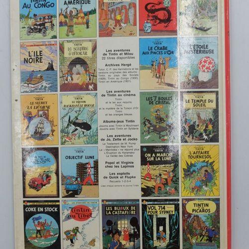 [CASTERMAN] Tintin Ensemble de 4 Bandes Dessinées.  21. Les bijoux de la Castafi…