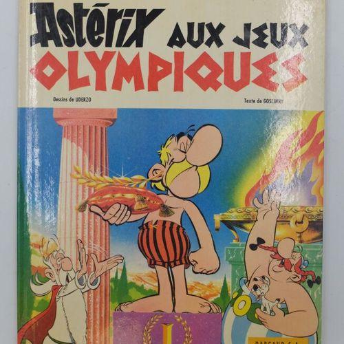 ASTERIX  12. Astérix aux Jeux Olympiques, 1968, Dargaud.