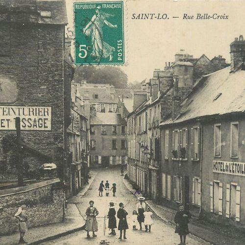 """142 CARTES POSTALES MANCHE : La Ville de Saint Lô. Dont"""" Vue prise de l'Hôtel de…"""