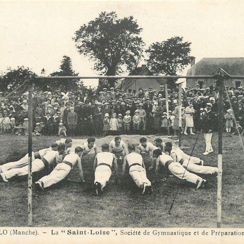 41 CARTES POSTALES SPORTS & LOISIRS : Saint Lô Société de Gymnastique et de Prép…