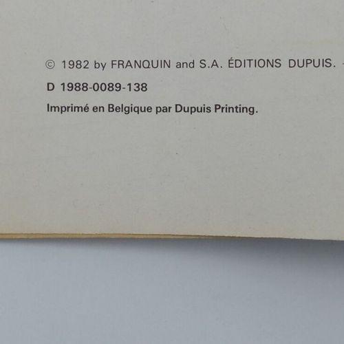 [DUPUIS] Gaston Lagaffe. Ensemble de 3 Bandes Dessinées.  9. Le Cas Lagaffe, 197…